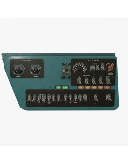 Mi-8MT Mi-17MT Right Side Console English