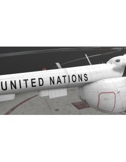 Mi-8MTV United Nations