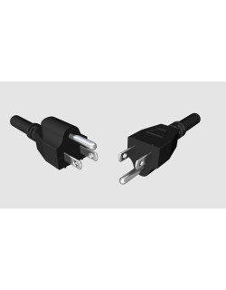 NEMA 5-15 US electrical plugs