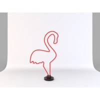 Neon Led Flamingo