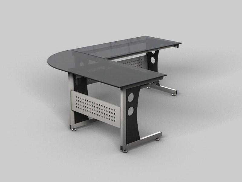 Office Desk Model 02
