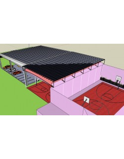 Okul _ Kolej Çatı ve Cepe Güneş Enerji Sistemi /  School _ College Roof and Pocket Solar Energy System