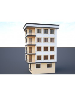 Ornate building 3d model 5 3D model