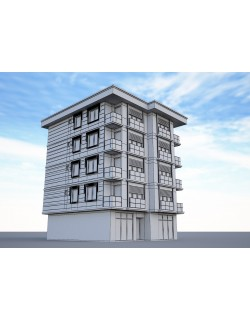 Ornate building 3d model 8 3D model