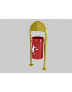 Outdoor Garbage Cans - 2