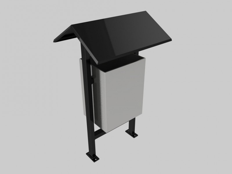 Outdoor Garbage Cans - 3