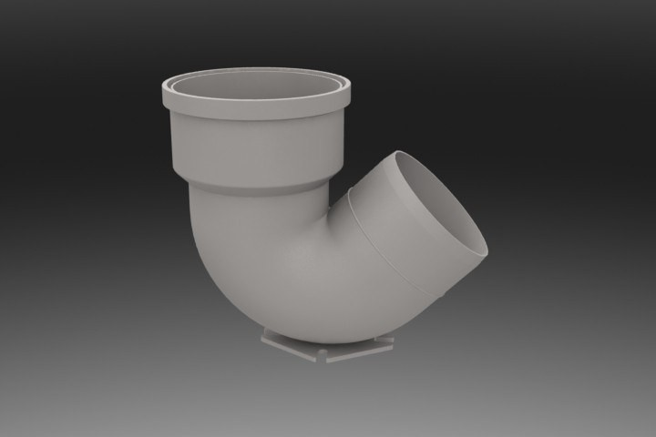 Pipe fittings collection 3D Model for Download