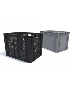 PLASTIC CONTAINER - CRATE 600x400x445mm
