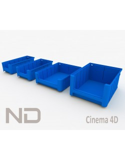 RACK AD FLOW MATERIAL BOXES - 1 (30cm)