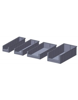 RACK FLOW MATERIAL BOXES - 3 (50cm)