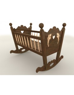 ROCKING BABY CRADLE