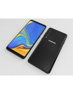 Samsung Galaxy A9 (2018) 3D model