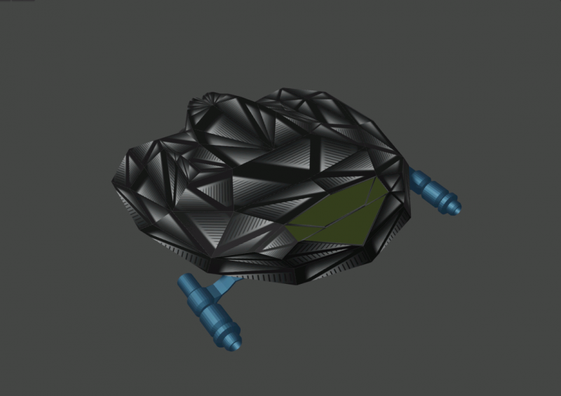 Space Ship Drone