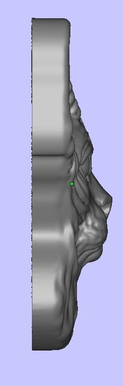Sphinx head Element for jewelry