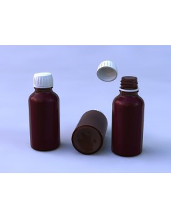 SYRUP BOTTLE GLASS