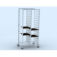 Tableware collection cart 2