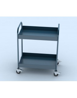 Tableware collection cart