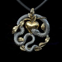 The Serpent Tempter Pendant