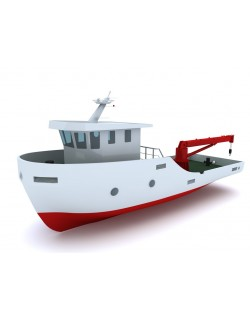 TUGBOAT 15m. - SOLID MODEL