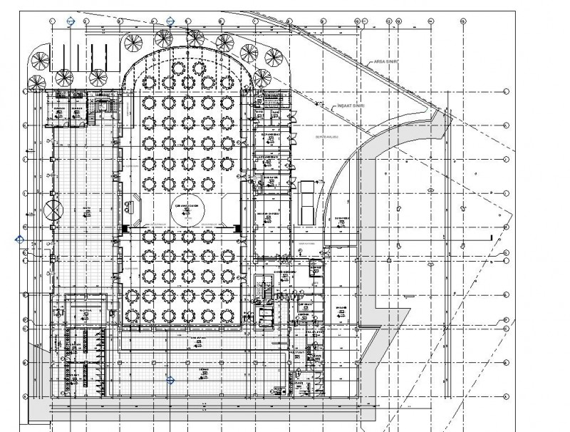 Wedding Hall Project Revit and Max