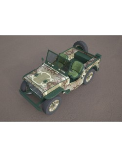 willys jeep 3d military model 3D model