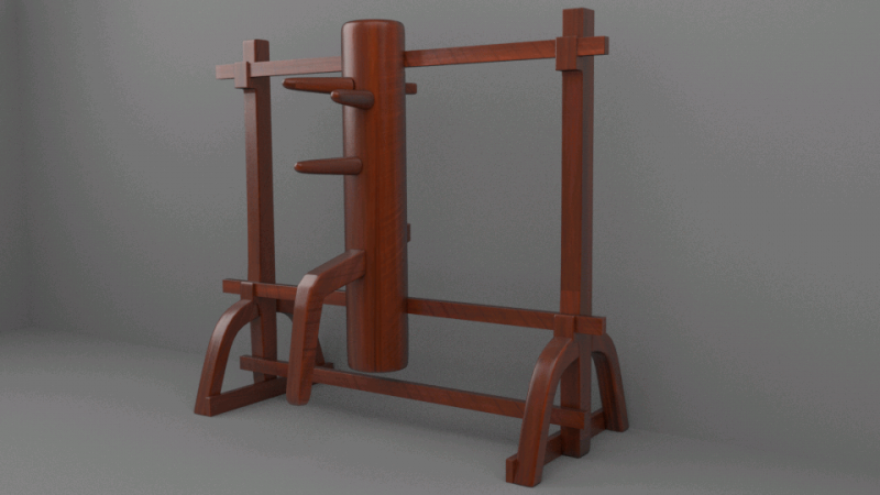 Wingchun dummy 3D Model for Download