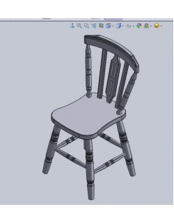 WOOD CHAIR - 2