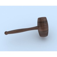 Wood mallet