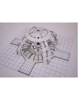 yuvarlak masa round table 3D model